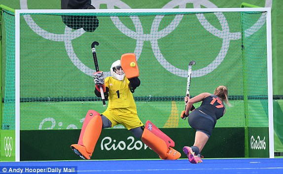 Field hockey coaching: How to move effectively as a goalkeeper
