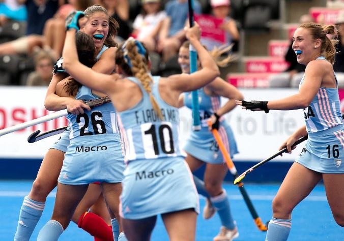 Argentina's goal contender sets Women's Hockey World Cup alight