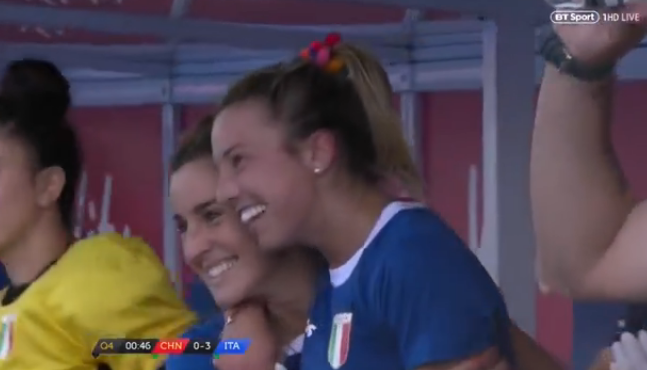 History! Italy women cause Hockey World Cup shock over China