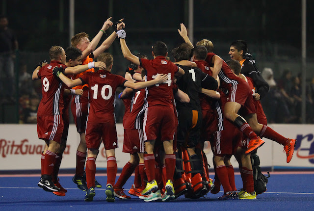 Great Britain's hockey men lift Sultan of Johor title