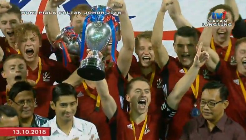 Great Britain 'passion' hailed for Sultan of Johor Cup hockey success
