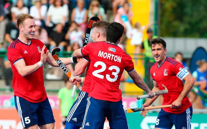 Argentina V Great Britain Hockey Pro League Olympic Champions Come